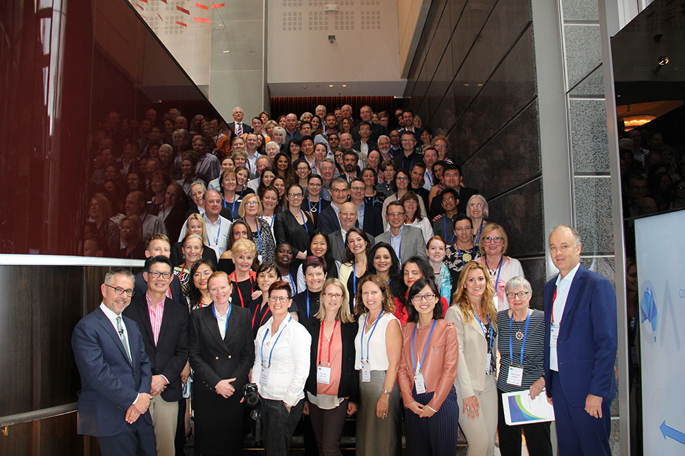 Attendees of the OA Summit